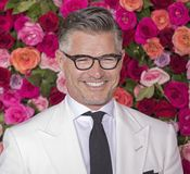 Eric Rutherford at the 2018 Tony Awards. Model and actor Eric Rutherford arrives on the red carpet for the 72nd Annual Tony Awards held at Radio City Music Hall Stock Image
