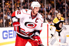 Eric Staal Carolina Hurricanes Stock Image