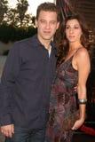 Eric Sweeney och Michelle Dudek  royaltyfri bild