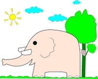 Eric - un animale di Toon illustrazione vettoriale