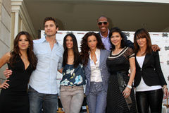 Eric Winter,Eva Longoria,Eva Longoria Parker,Eva Longoria-Parker,Jerome Williams,Laura Harring,Roselyn Sanchez,Sofia Milos,Robin A Royalty Free Stock Image