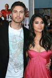 Eric Winter, Roselyn Sanchez, The Game Stock Image