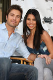 Eric Winter,Roselyn Sanchez Royalty Free Stock Images