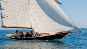eric wymieniał tabarly penduick jacht fotografia royalty free