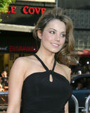 Erica Durance. Premiere of Batman Begins Grauman's Chinese Theater Los Angeles, CA June 6, 2005 royalty free stock photo