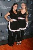 Erica Tucker i Ashley girlanda Fotografia Royalty Free