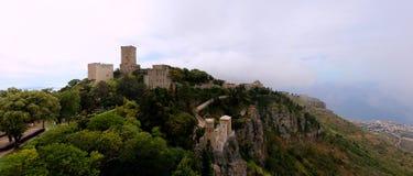 Замок Erice Стоковые Фото