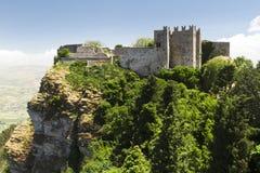 Erice castle Royalty Free Stock Photo