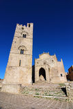 Erice Cathedral , Sicily royalty free stock photo