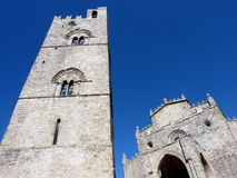 Erice Cathedral , Sicily Royalty Free Stock Images