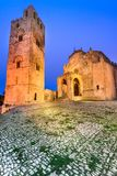 Erice, Chiesa Madre in Sicily, Italy Stock Image