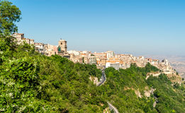 Erice. City ​​Erice on a Hill in Sicily Royalty Free Stock Images