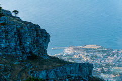 Erice historic city Stock Images