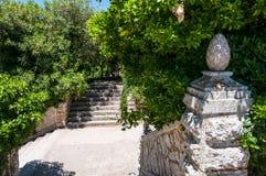 Erice italic city in Sicily island Royalty Free Stock Photography