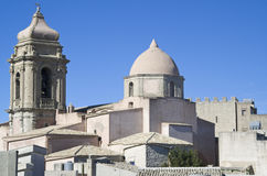 Erice Rooftops Royalty Free Stock Photo