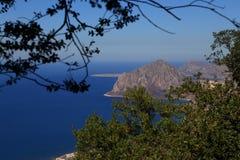 Erice (Sicília) Imagens de Stock Royalty Free