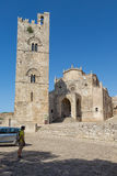 ERICE SICILIA CHIESA Royalty Free Stock Image