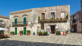 ERICE SICILIA PALAZZO Royalty Free Stock Photo