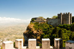 Erice in Sicily Royalty Free Stock Images