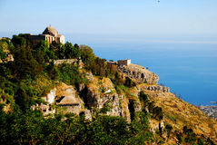 Erice (Sicily) Arkivfoto