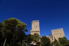 Erice (Sicily) Royalty Free Stock Images