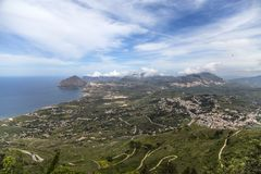 Erice, Sicily Stock Photos