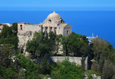 Erice - St. Giovanni Church (Sicily) Stock Photos