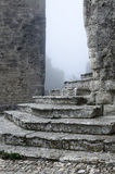 Erice Staircase Stock Image
