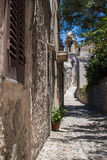Erice Streets Royalty Free Stock Photos
