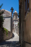 Erice streets Royalty Free Stock Photo