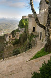 Erice to Trapani Royalty Free Stock Images