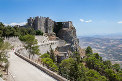 Erice-Trapani-Sicilia Royalty Free Stock Photo