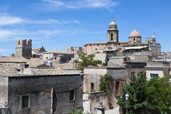 Erice-Trapani-Sicilia Stock Photography