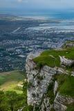 Erice Trapani, Sicilien, Italien - panoramautsikt Royaltyfri Foto