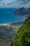 Erice Trapani, Sicilien, Italien - panoramautsikt Royaltyfri Bild