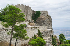 Erice, Trapani. Sicily, Italy. Royalty Free Stock Photos