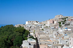 Erice view Royalty Free Stock Photos