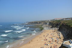 Ericeira beach Royalty Free Stock Photo