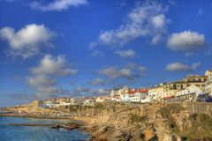 Ericeira coastline Royalty Free Stock Images