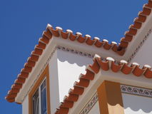 ERICEIRA TIPICAL ROOF ARCHITECTURE stock photos