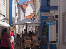 ERICEIRA TIPICAL STREETS royalty free stock photography