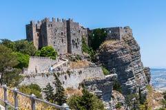 Eriche historic italic city Royalty Free Stock Photo