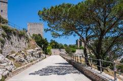 Eriche historic italic city Stock Images