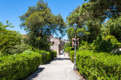 Eriche historic italic city Royalty Free Stock Image