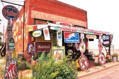 The City Meat Market in Erick, Oklahoma. Stock Image