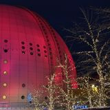 ericsson σφαίρα Στοκχόλμη στοκ φωτογραφία με δικαίωμα ελεύθερης χρήσης