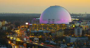 The Ericsson Globe Arena `Globen Royalty Free Stock Photography