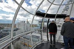 Ericsson globe arena panorama view Royalty Free Stock Photography