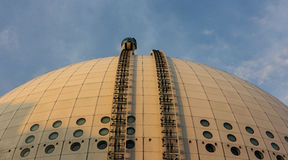 Ericsson globe in Stockholm, Sweden Royalty Free Stock Images