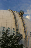 Ericsson globe in Stockholm, Sweden Stock Images